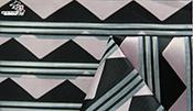 三角形提花面料F05661