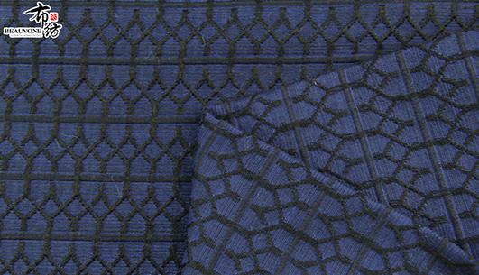 几何条纹提花面料F05687